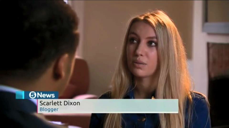 Scarlett London Channel 5 News