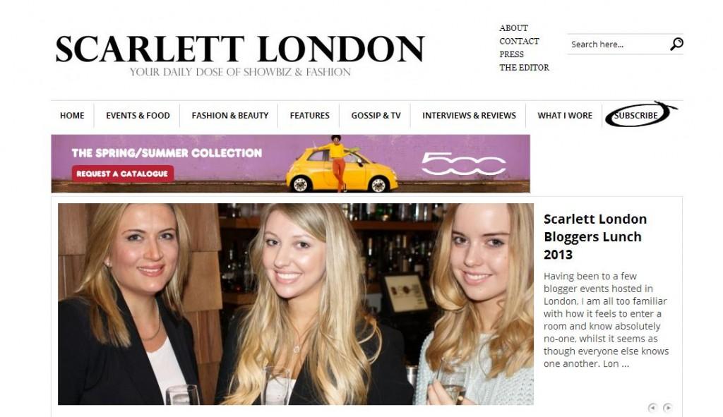 scarlett london new website
