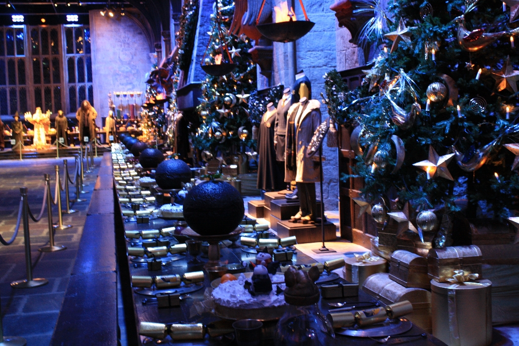 harry potter studios christmas