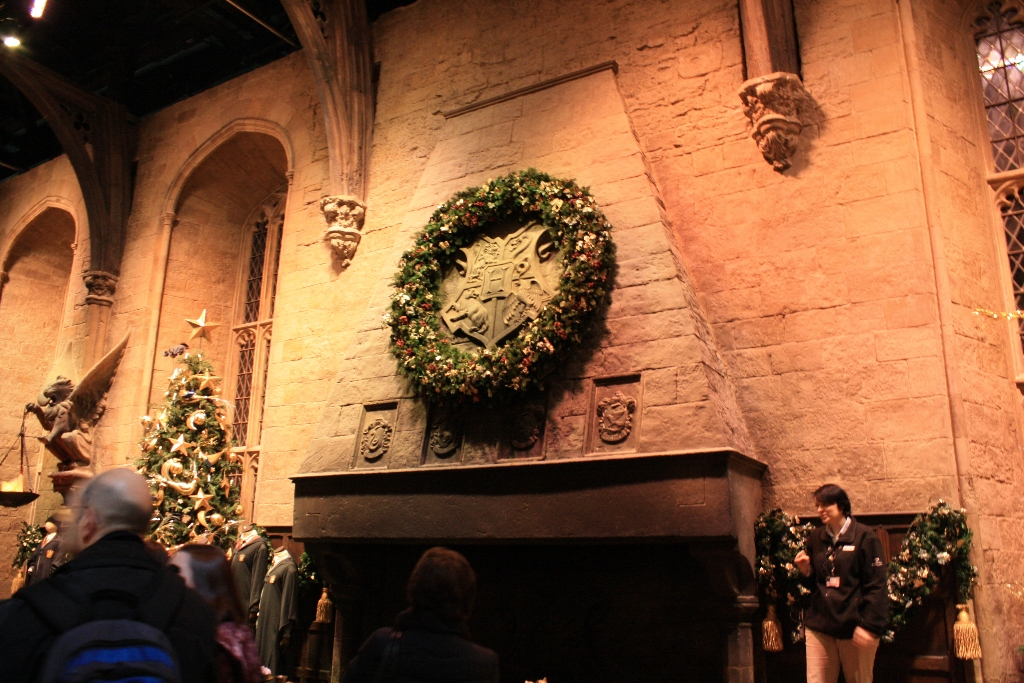 Harry Potter Studio Tour Hogwarts At Christmas 050