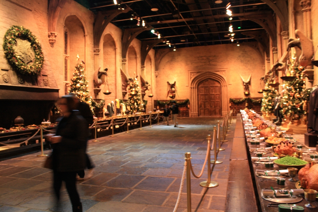 Harry Potter Studio Tour Hogwarts At Christmas 060