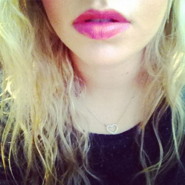 scarlett dixon lipstick naked foundation