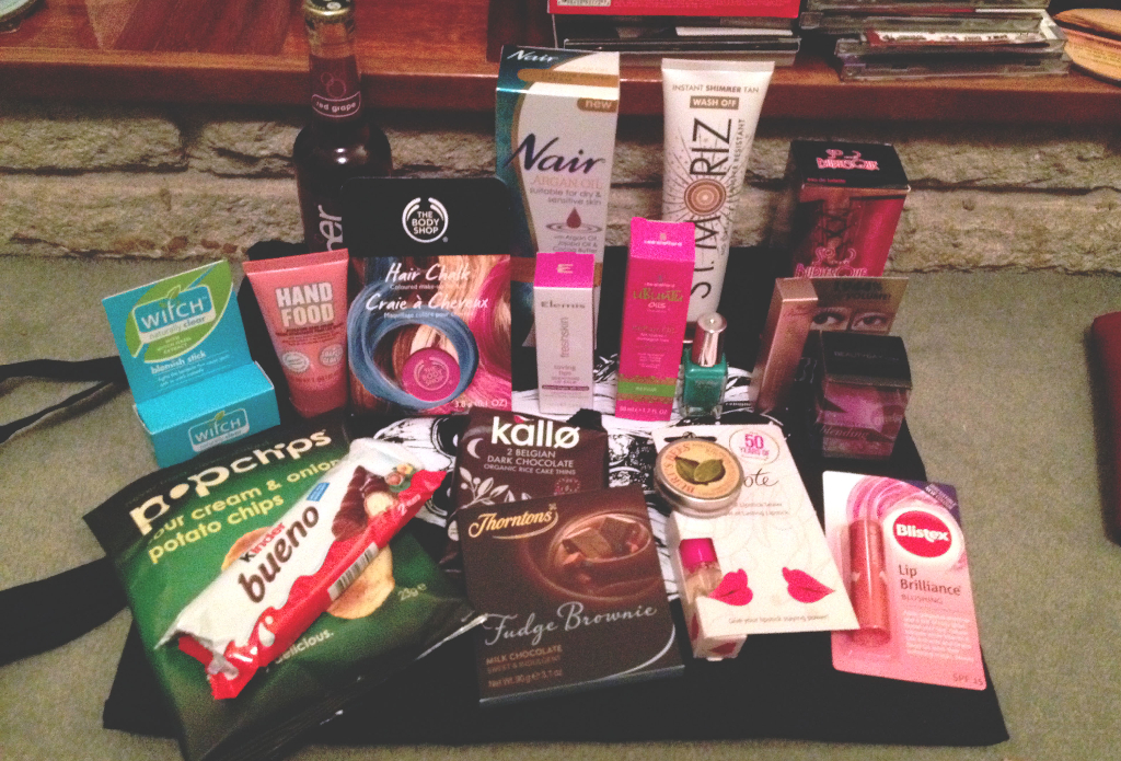 Now that's what I call a goodie bag!