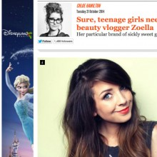 Zoella Article Independent