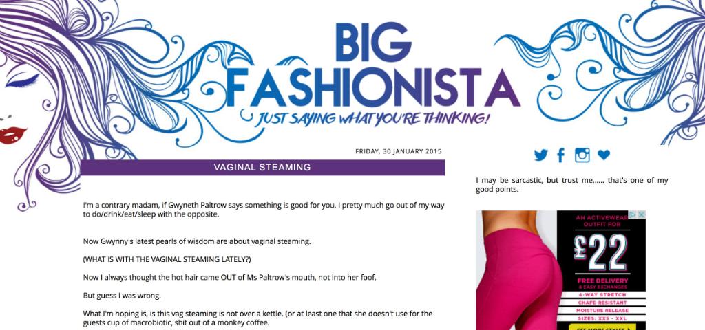 Big Fashionista