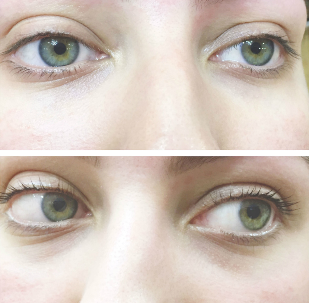 lashes before and after lvl