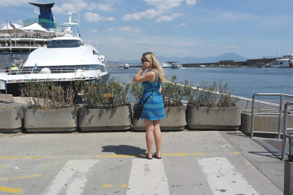Arriving in Naples