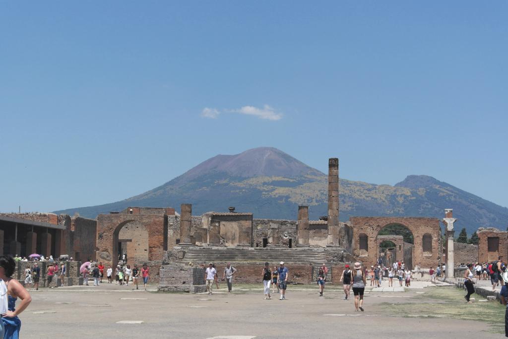 The Ancient Ruins, Pompeii