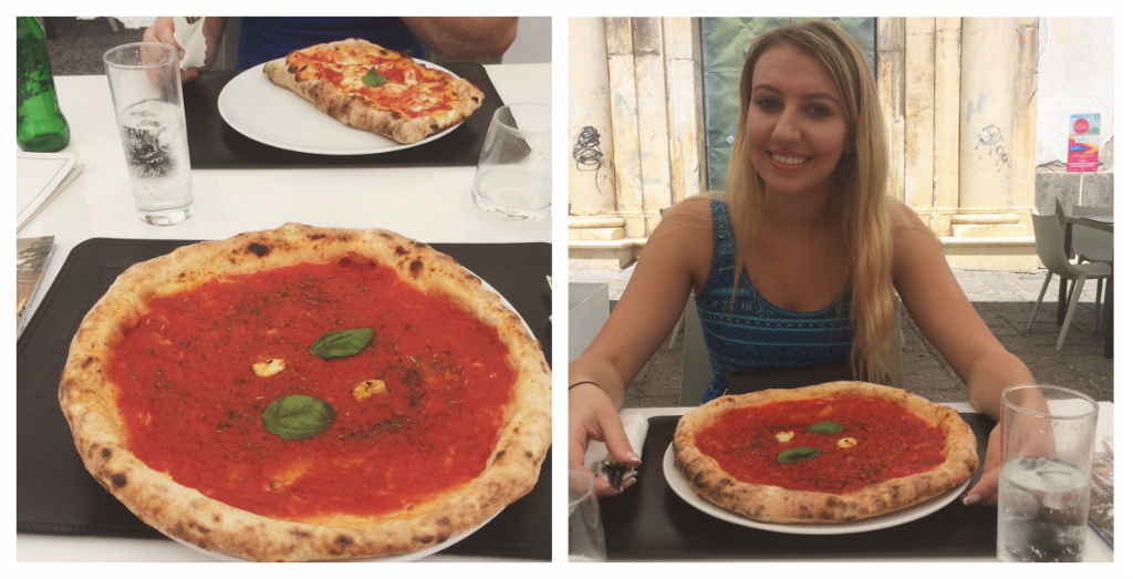 Scarlett Dixon London pizza