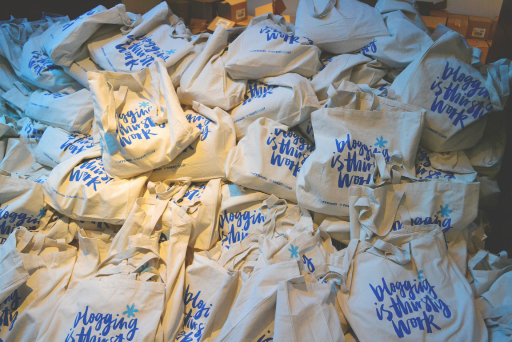 Bloggers Festival Goody Bags
