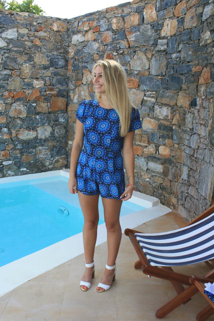Scarlett London Blue 45