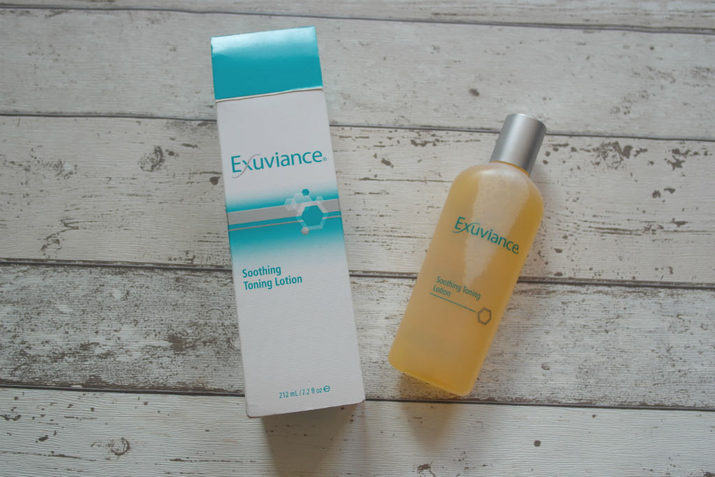 exuviance soothing toning lotion review