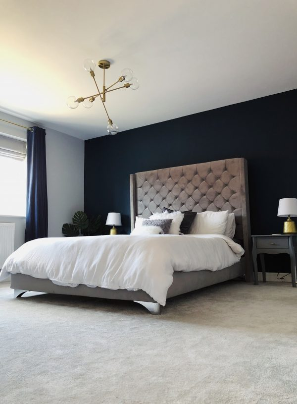Before & After : The Master Bedroom