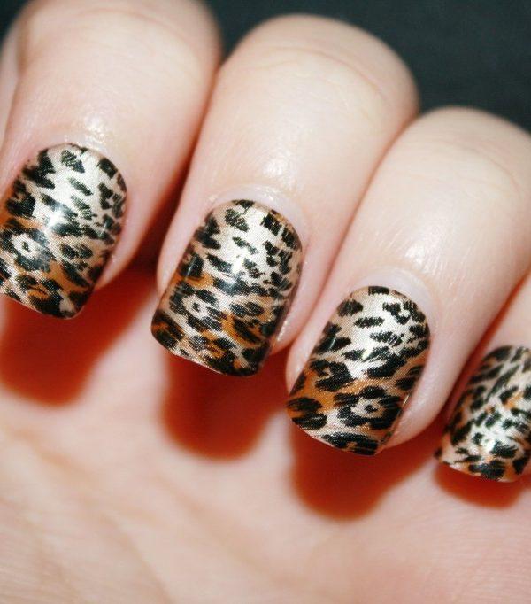 Leopard Print imPRESS nails!